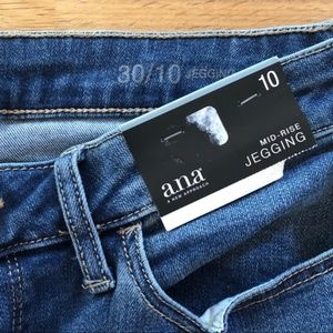 a.n.a Jeans - A.N.A. Mid Rise Jeggins sz 10M NWT